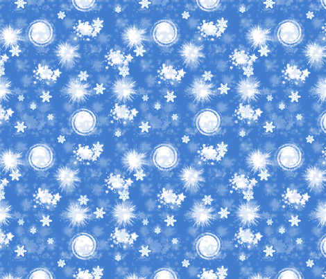 SNOW! fabric by mammajamma on Spoonflower - custom fabric