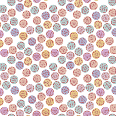 SWEETS fabric by lusykoror on Spoonflower - custom fabric
