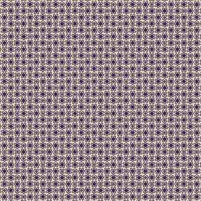 Floral Dot buff purple  © 2012 by Jane Walker