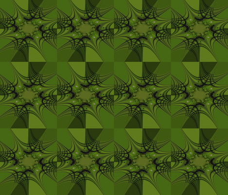 Shades of Green fabric by anniedeb on Spoonflower - custom fabric