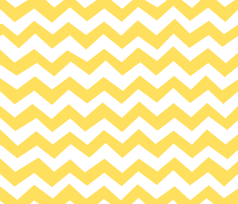 Chevron Lemon Zest Yellow fabric by friztin on Spoonflower - custom fabric