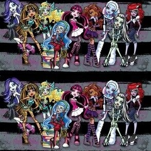 Monster High Grey/Black