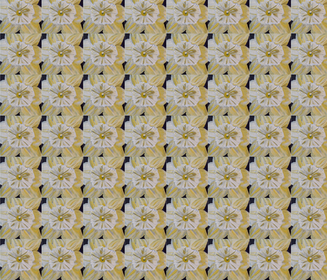 daffodill fabric by rachelbiddlecome on Spoonflower - custom fabric