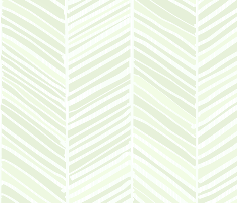 Herringbone Hues of Pastel Emerald by Friztin fabric by friztin on Spoonflower - custom fabric