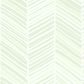 Herringbone Hues of Pastel Emerald by Friztin