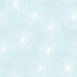Dandelions - Pastel Blue