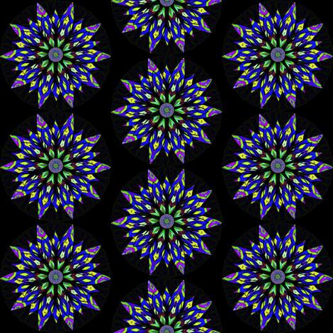 Modern Snowflakes 13 -  Snow at Nightfall