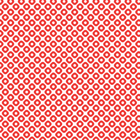 kanoko in carnelian fabric by chantae on Spoonflower - custom fabric