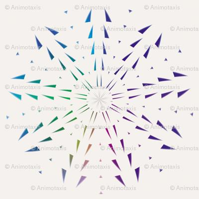 Snowflake Spirals 1