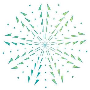 Snowflake Spirals 5