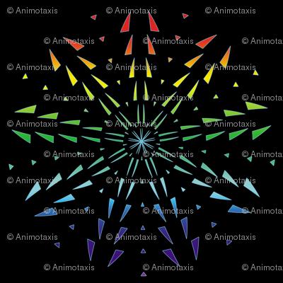 Snowflake Spirals 8