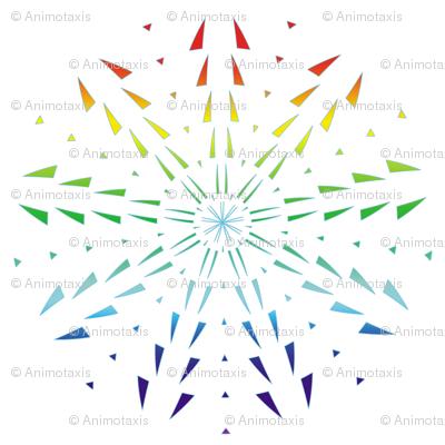 Snowflake Spirals 9