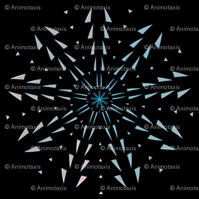 Snowflake Spirals 10
