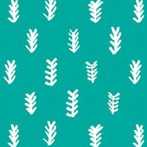 pine needles / seafoam colour