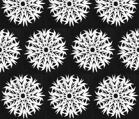 snow fabric by amordenti on Spoonflower - custom fabric