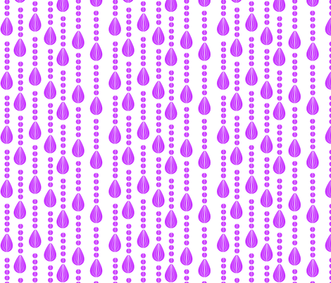 Candy Rain purple fabric by glanoramay on Spoonflower - custom fabric