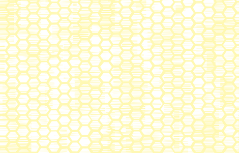 Beehive Grunge - Reversed Yellow fabric by friztin on Spoonflower - custom fabric