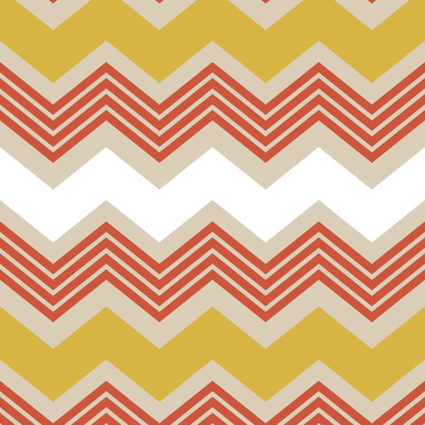 zigzag fabric by mrshervi on Spoonflower - custom fabric