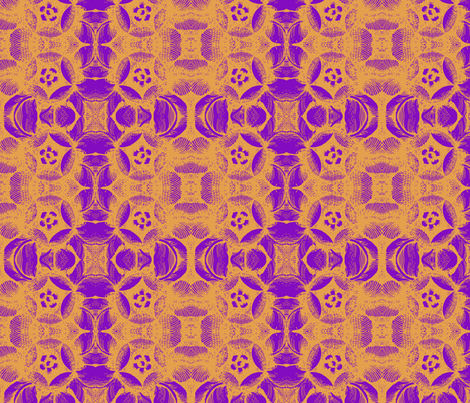 purplorange fabric by kellyjade on Spoonflower - custom fabric