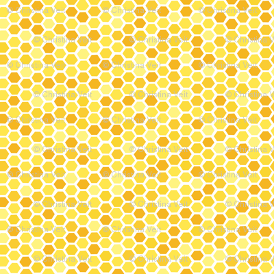 Beehive Yellow Hues by Friztin