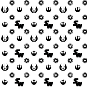 Black and White SW Pattern 2