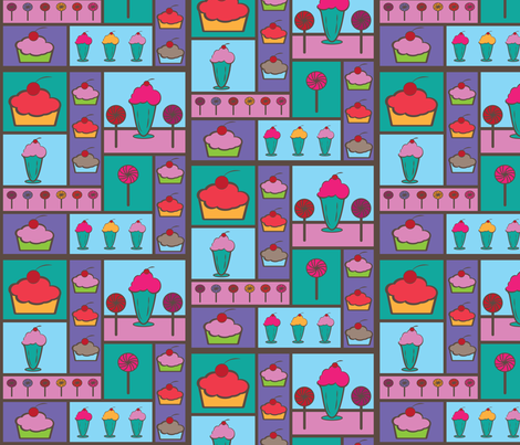 treats4 fabric by lerhyan on Spoonflower - custom fabric