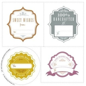 Duclos Design Gift tags