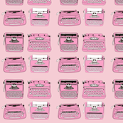 Typewriters Pink