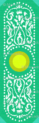 CARTOUCHE - emerald and lemon zest
