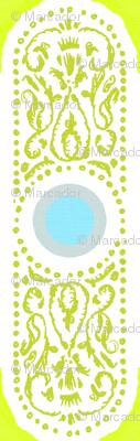 CARTOUCHE - hyper green and robin's egg