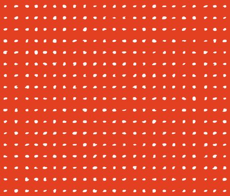Polka Dots - Targerine Tango fabric by friztin on Spoonflower - custom fabric