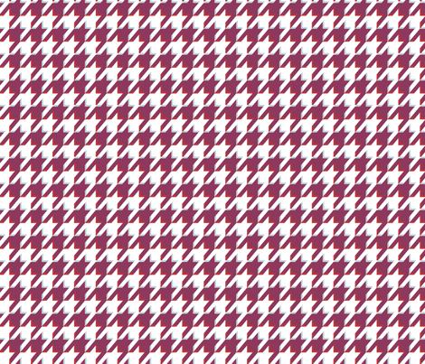 Houndstooth 3D fabric by graycatbird on Spoonflower - custom fabric