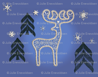 Lace Reindeer