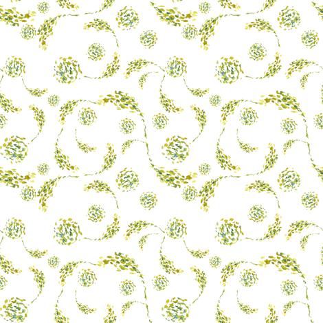Vine Swirls fabric by susan_magdangal on Spoonflower - custom fabric