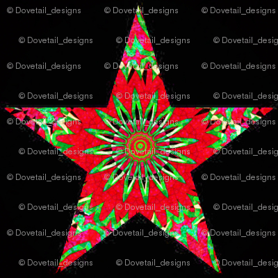 HOLIDAY ORNAMENT STARS 5