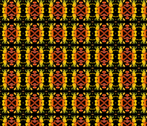pumpkin pieces 2 fabric by y-knot_designs on Spoonflower - custom fabric