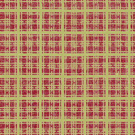 Asian plaid - brown/light pink-ch fabric by materialsgirl on Spoonflower - custom fabric