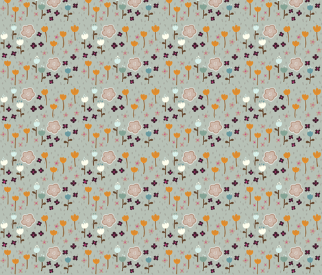 Nighty Night Garden fabric by thalita_dol on Spoonflower - custom fabric
