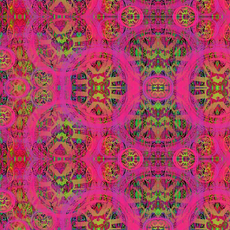 pink tires fabric by y-knot_designs on Spoonflower - custom fabric