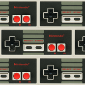 NES Controller Brick Pattern