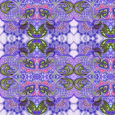 Patches and  Patchouli  fabric by edsel2084 on Spoonflower - custom fabric