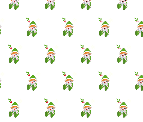 elfo-ed fabric by lucyola on Spoonflower - custom fabric