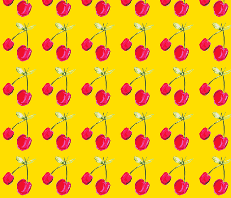 Cherrypie  fabric by marmalademudpie on Spoonflower - custom fabric