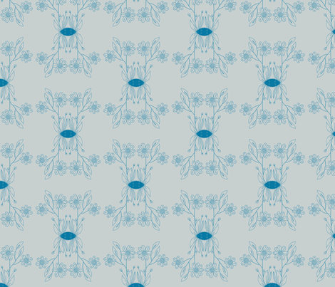 bloempje fabric by kellyjade on Spoonflower - custom fabric