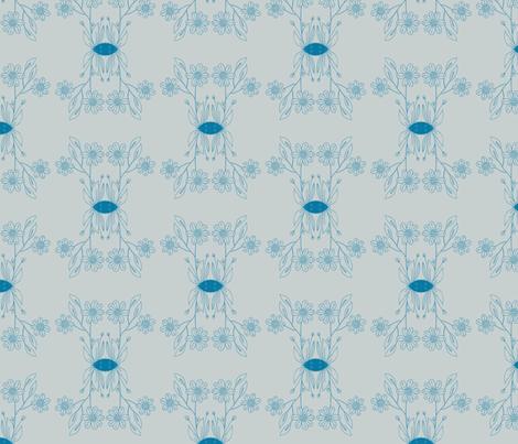 bloempje fabric by kellyjade on Spoonflower - custom fabric