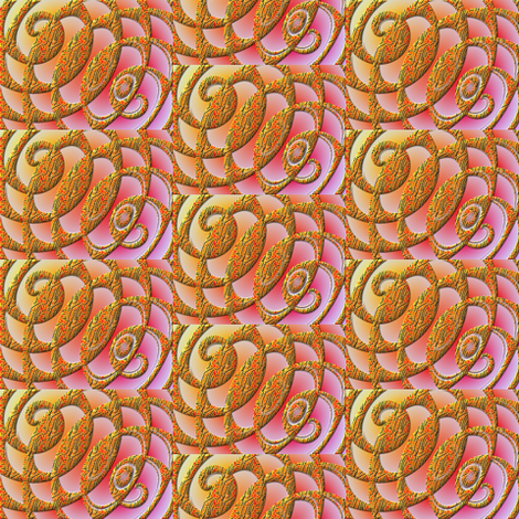 tiger tails fabric by y-knot_designs on Spoonflower - custom fabric