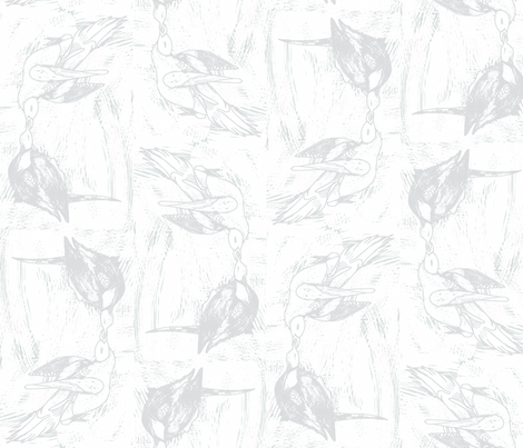 Passenger Pigeons fabric by julia_canright on Spoonflower - custom fabric