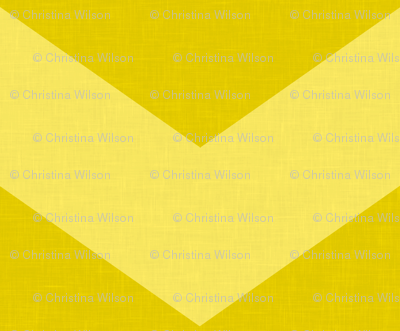 Wide Yellow Chevron