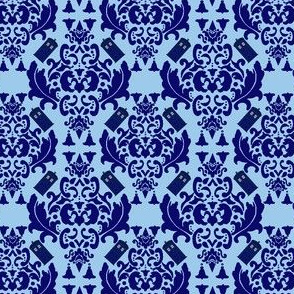 TARDIS Damask 