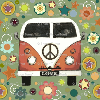 peace camper large